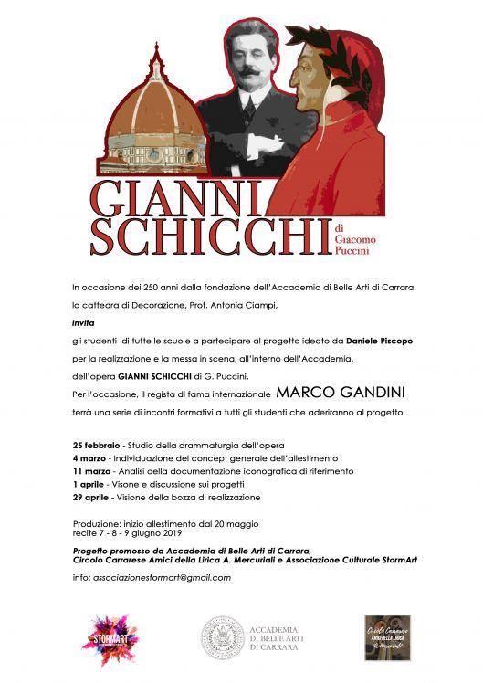 PROGETTO GIANNI SCHICCHI