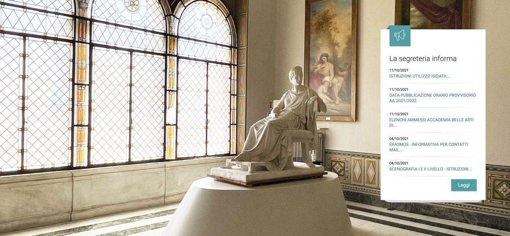 Partono i corsi dell'Accademia di Carrara